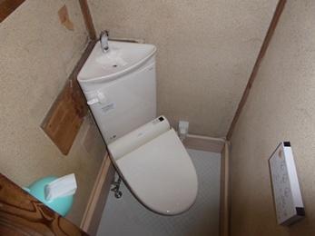 和式トイレから快適な洋式トイレへ!