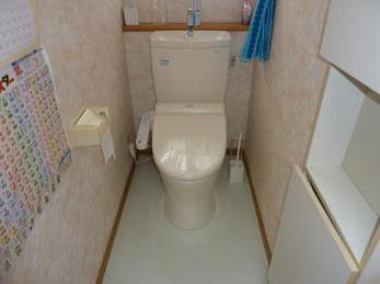 水漏れを改善、トイレ交換リフォーム
