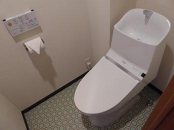 手洗い部分が大きいので気にせず行えるようななりました。