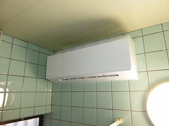 普段シャワーが多いので、冬場に備えて使えるようにしました