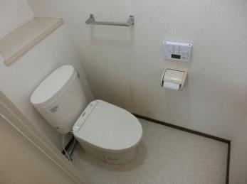 節水性の高い綺麗を保つトイレに